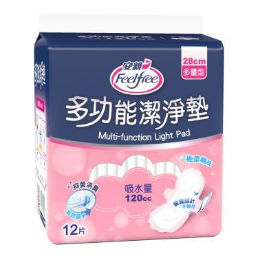 安親 抑菌潔淨墊多量型28cm(12片x12包/箱 漏尿專用)-箱購-廠送