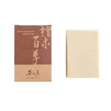 茶山房 檜木百草皂100g