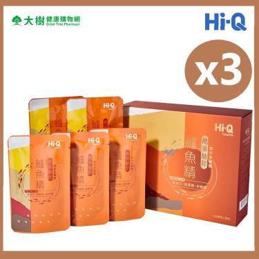 Hi-Q health 褐藻糖膠鱸魚精(60ml*5入X3盒)