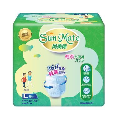 Sunmate尚美德 輕柔方便褲 L54片(9片x6包)