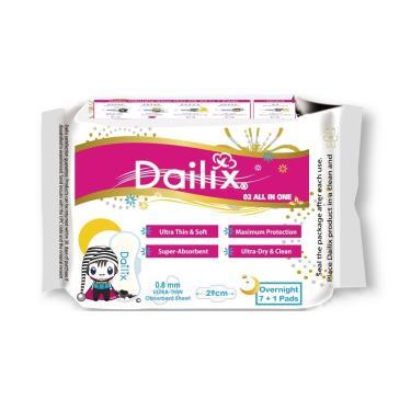 Dailix 抑菌抗敏淨味超乾爽透氣衛生棉-夜用型(吸血鬼娃娃版) 8片/包