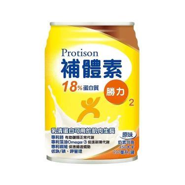 (送2罐)補體素 勝力2- 18%蛋白質補養配方237mlx24罐(箱購)
