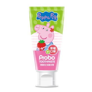 快潔適 博寶兒佩佩豬兒童牙膏 80g 草莓口味