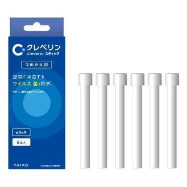 大幸藥品 日本Cleverin Powersabre加護靈-筆型補充包 6入/盒