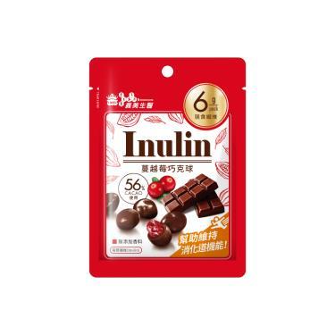 義美生醫 Inulin蔓越莓巧克球37.5g