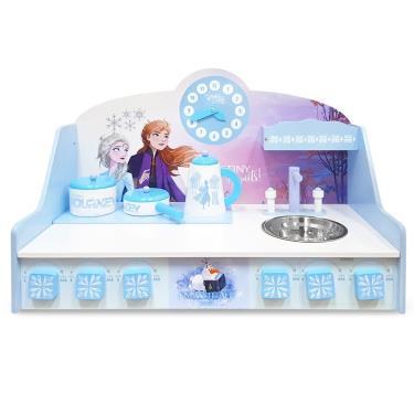 Kikimmy 迪士尼冰雪奇緣桌上型木製廚房玩具組 4件組 (廠)