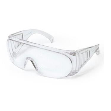 MIT 台灣製造 防飛沫 防霧 抗UV  透明護目鏡(扇形風口)