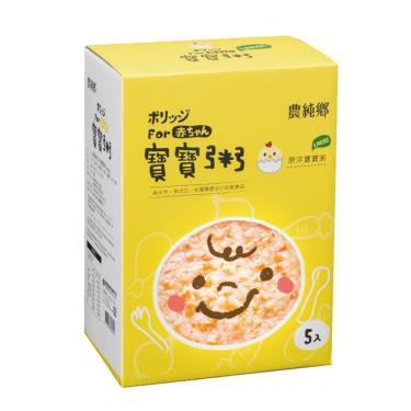 農純鄉 原淬寶寶粥 (200g*5包/盒)