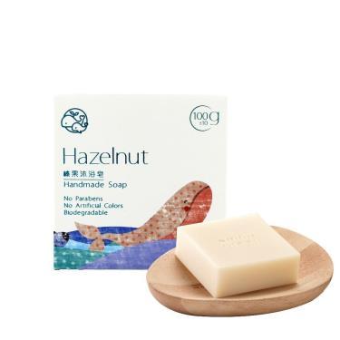 歐米綠 榛果沐浴皂-100g (中性、油性、混合性肌膚適用)
