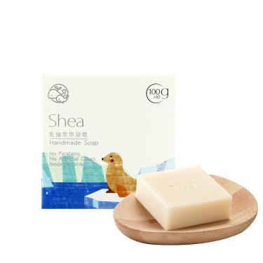 歐米綠 乳油木沐浴皂-100g (中性、乾性、敏感性肌膚適用)