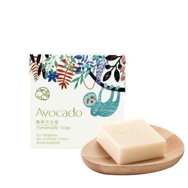歐米綠 酪梨沐浴皂-100g (中性、乾性、敏感性肌膚適用)