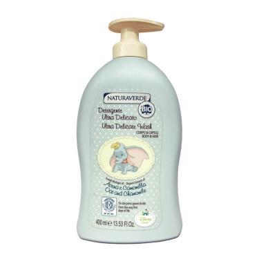 自然之綠 小飛象燕麥嬰幼雙效洗髮沐浴露400ml