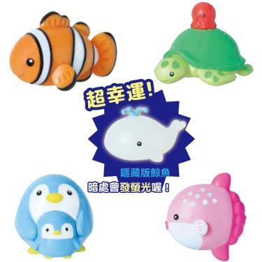 日本 NOL CORPORATION 可愛海洋動物入浴球/沐浴球