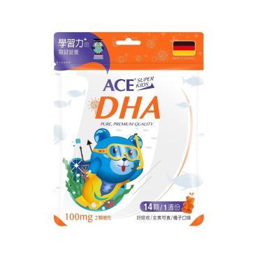 ACE SUPER KIDS DHA 營養Q(14顆/袋)