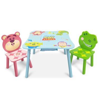 Disney迪士尼正版授權 玩具總動員桌椅組 (一桌二椅) (廠)