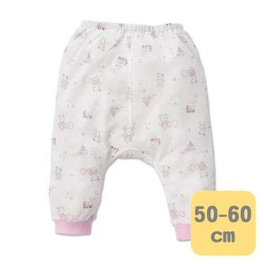 Baby City 娃娃城 天絲棉初生褲 玩具熊(粉50-60cm)