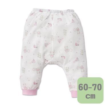 Baby City 娃娃城 天絲棉初生褲 玩具熊( 粉60-70cm)