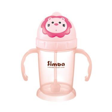 小獅王辛巴 辛巴滑蓋樂活杯-莓果粉