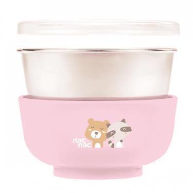 NAC NAC 不銹鋼雙層隔熱餐碗300ml(粉色)