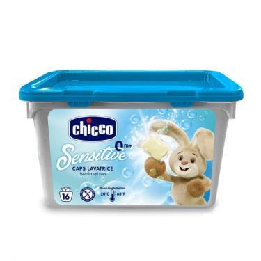義大利CHICCO 超濃縮嬰兒洗衣膠囊 16入/盒