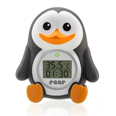 德國 Reer 小企鵝LED洗澡水溫度計