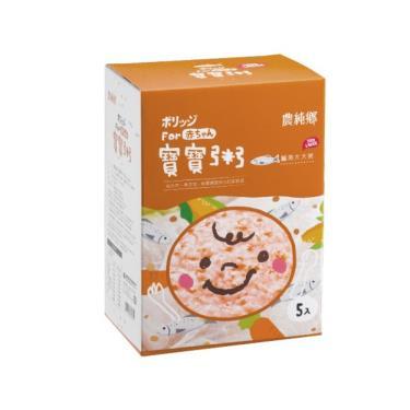 農純鄉 鱸魚大大粥 (200g x5包/盒)