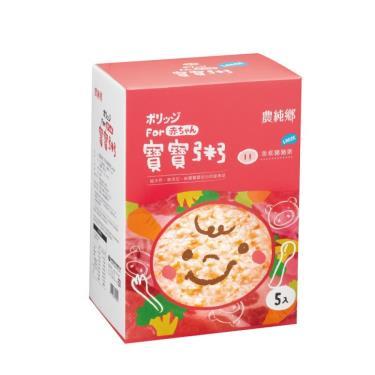 農純鄉 乖乖豬粥 (200g x5包/盒)