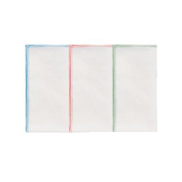 小獅王辛巴 極柔感紗布手帕藍粉綠- 3入/包