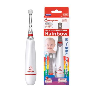 安貝兒康BabySmile 日本炫彩變色兒童電動牙刷-紅色