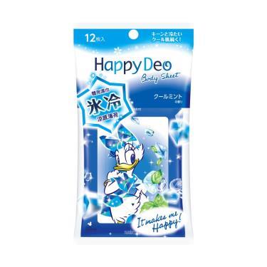 日本 MANDOM 黛西款體用濕巾-涼感薄荷 12張/包