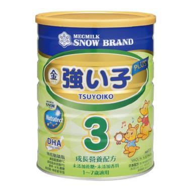 (買18送3)雪印 強小子PLUS成長奶粉3號 900gX21罐