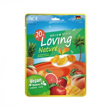 ACE 熱帶水果植物軟糖(160g/袋)