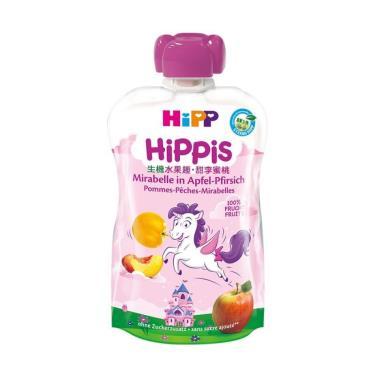 HIPP 喜寶 生機水果趣-甜李蜜桃100g