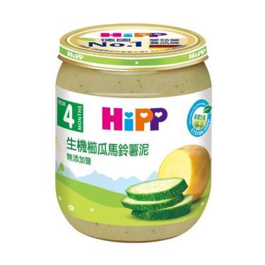 HIPP 喜寶 生機櫛瓜馬鈴薯泥125g