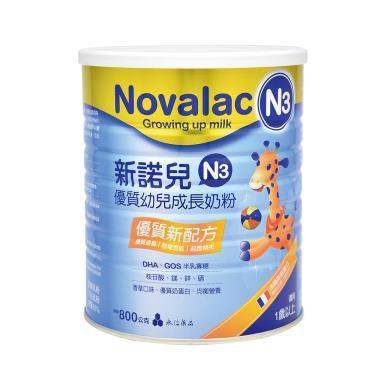 (買12送2)新諾兒 N3幼兒成長奶粉800gX14罐