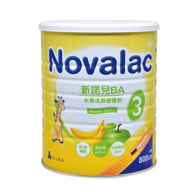 (買6送1)新諾兒 BA水果成長營養奶粉800gX7罐