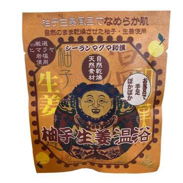 SEARUN岩鹽溫泉入浴劑30g-柚子生薑