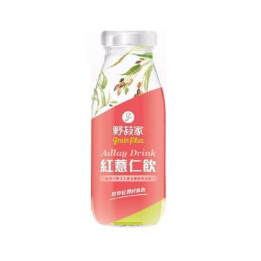 野菽家 紅薏仁飲(195ml/瓶)