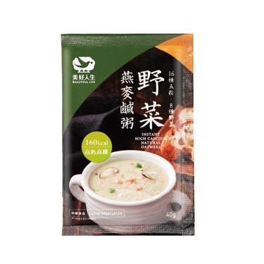 美好人生 高鈣野菜燕麥鹹粥(40g*10包/盒)