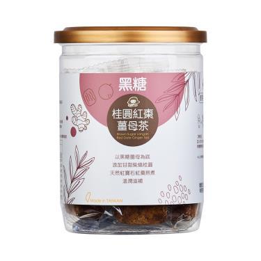 蜜思朵 黑糖桂圓紅棗薑母茶(204g/罐)
