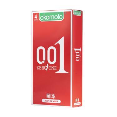 Okamoto岡本 001至尊勁薄 衛生套 (4入裝)