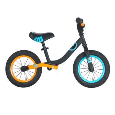 英國 Whiz bebe 酷LOVE平衡滑步車 橙黑 (廠)