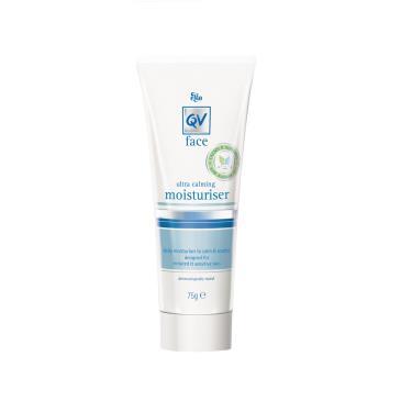 QV face 舒敏燕麥醯胺高效修復精華乳-75g
