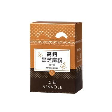 芝初 高鈣黑芝麻粉隨手包(7g*12包/盒)