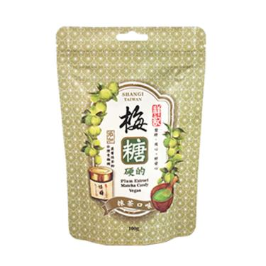祥記 梅糖(硬)抹茶口味100g