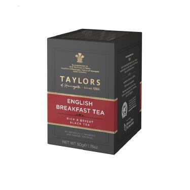 英國 Taylors泰勒 英式早安紅茶 20入