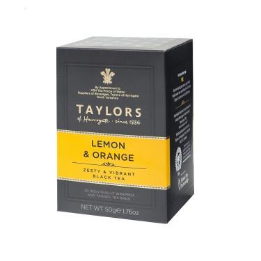 英國 Taylors泰勒 檸檬香橘茶 20入