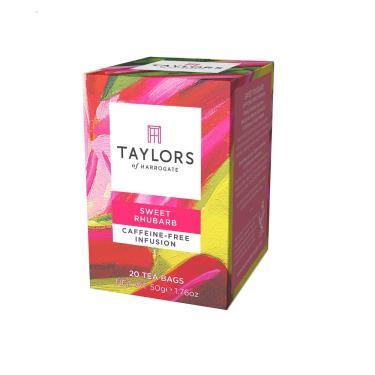 英國 Taylors泰勒 玫瑰果大黃風味茶 20入