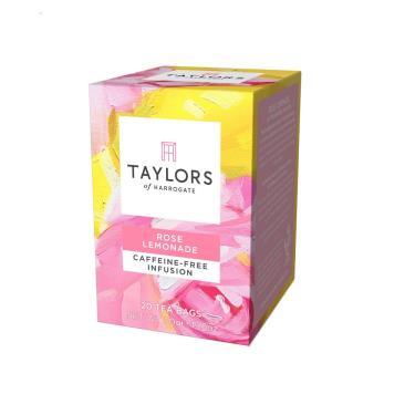 英國 Taylors泰勒 玫瑰檸檬風味茶 20入