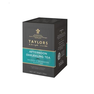 英國 Taylors泰勒 大吉嶺茶 20入